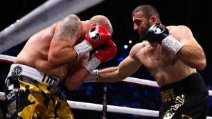 Видео нокаута, или как обидчик казахстанцев победил в андеркарте реванша Руис - Джошуа