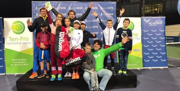 На турнире в академии Рафаэля Надаля случился казахстанский финал