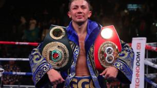 Головкин впервые вышел на ринг после завоевания двух титулов