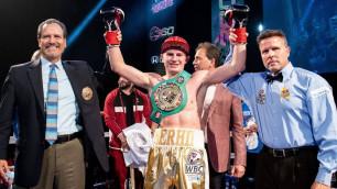 Тренировавшийся с Головкиным боксер выиграл нокаутом 17-й подряд бой