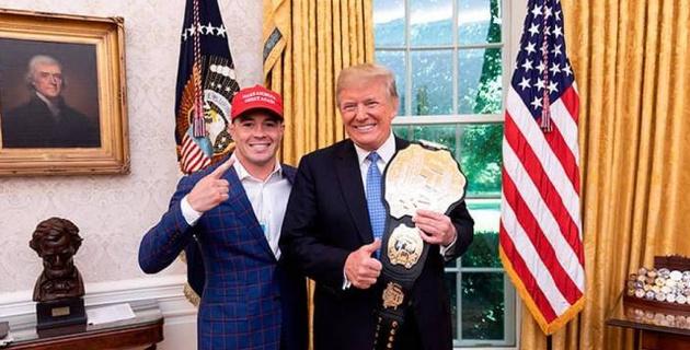 Любимый боец Трампа проиграл нокаутом чемпионский бой UFC