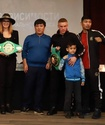 Непобежденные казахстанские боксеры прошли взвешивание перед титульными боями в Алматы