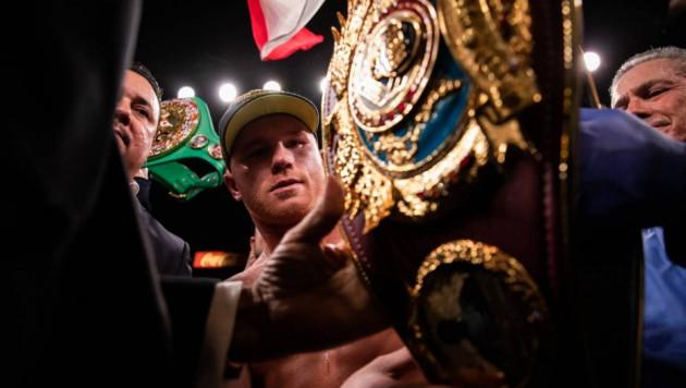 """Канело"" объявил об отказе от титула WBO за победу нокаутом над Ковалевым"