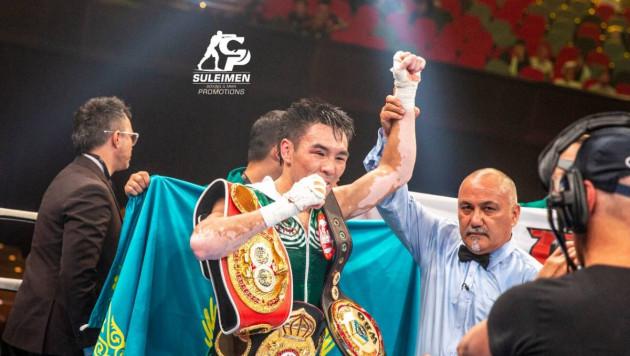 Небитый казахстанец с тремя поясами вошел в ТОП-15 рейтинга WBO