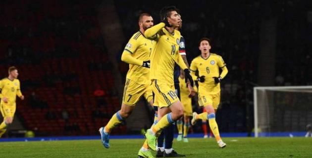 Сборная Казахстана по футболу завершила 2019 год ниже Нигера, Фарер и Индии в рейтинге ФИФА