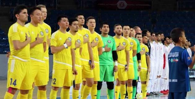 Стало известно время начала матчей сборной Казахстана по футзалу в отборе на чемпионат мира