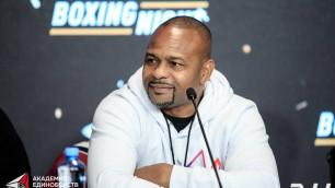 Рой Джонс поддержал турнир по боксу в Казахстане