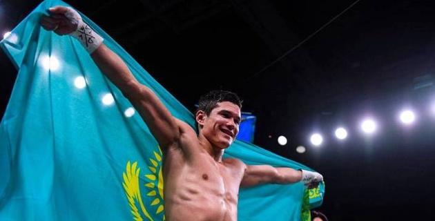 Данияр Елеусинов нокаутировал американца с 20 победами и одержал девятую победу в профи