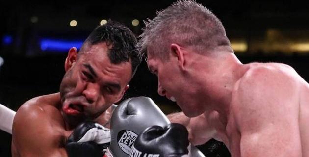 """Бывший соперник """"Канело"""" одержал первую победу в США на вечере бокса с участием Елеусинова"""