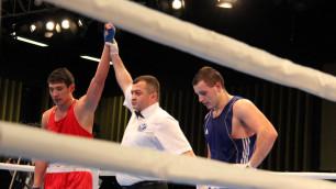 Две победы от чемпионов Азии, или как в Караганде завершился международный турнир по боксу