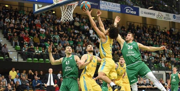 """Баскетболисты """"Астаны"""" одержали победу в последнем матче в году"""