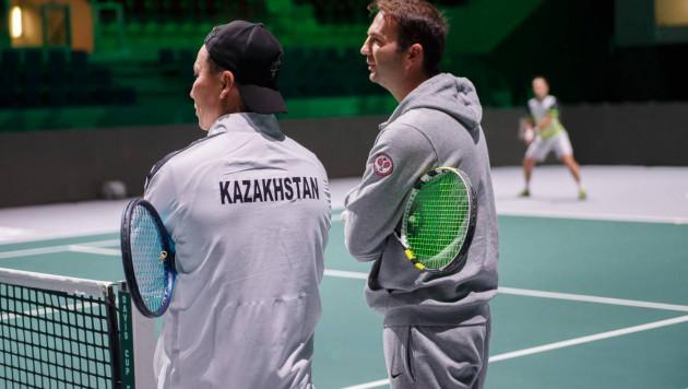 В мужской сборной Казахстана по теннису сменился капитан