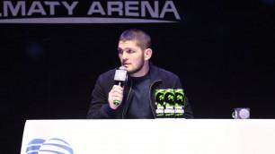 """""""Теперь у меня здесь дом"""". Хабиб - о казахстанцах в UFC, МакГрегоре, Мейвезере, допинге и мошенниках"""