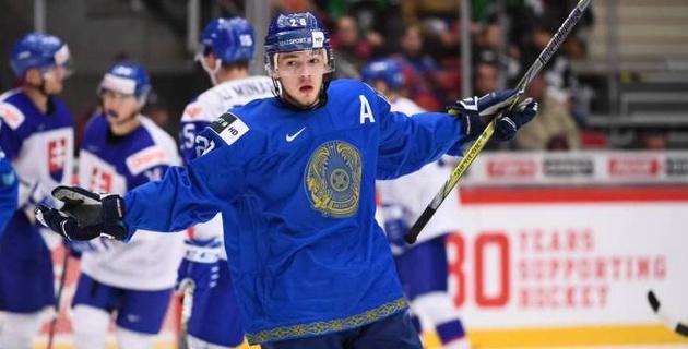 Канадский журналист отметил игру хоккеиста сборной Казахстана на МЧМ-2020