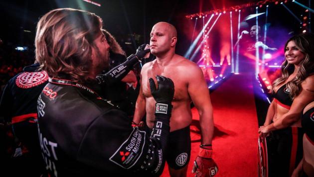 Прямая трансляция боя Федора Емельяненко против бывшего чемпиона UFC