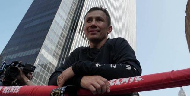 Геннадий Головкин поздравил болельщиков с Новым годом