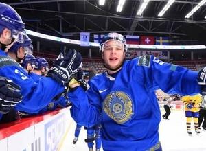 Прямая трансляция первого матча сборной Казахстана за выживание в элите молодежного ЧМ по хоккею