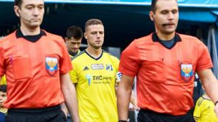 Клуб казахстанца Зайнутдинова объявил об уходе четвертьфиналиста Евро-2016