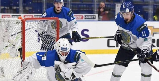 Молодежная сборная Казахстана проиграла первый матч за элиту молодежного ЧМ по хоккею