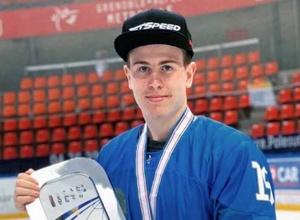 Подравшийся с Рыспаевым хоккеист забросил дебютную шайбу за сборную Казахстана на МЧМ-2020