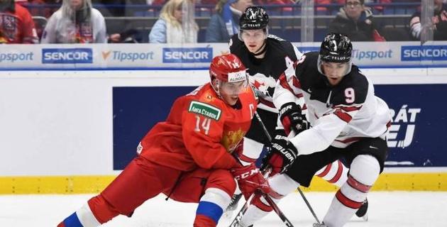 Прямая трансляция финала Канада - Россия на молодежном чемпионате мира по хоккею