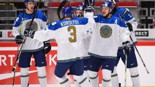 Сборная Казахстана, которая осталась в элитном дивизионе молодежного ЧМ по хоккею. Где они сейчас