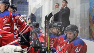 Хоккейный клуб из чемпионата Казахстана спасли из снежного плена