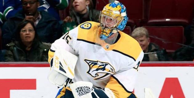 Вратарь забил в НХЛ впервые с 2013 года