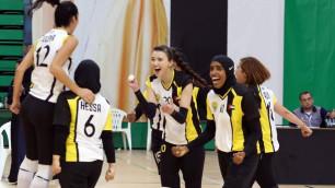 Сабина Алтынбекова дебютировала с победы за клуб - победитель Арабской лиги чемпионов