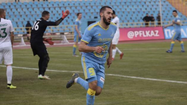 Форвард сборной Казахстана перейдет в стан участника Лиги Европы
