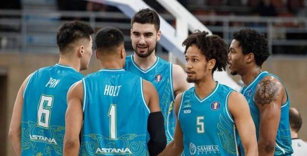 """Баскетболисты """"Астаны"""" проиграли российскому клубу в овертайме"""