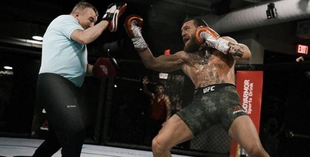 В Казахстане покажут в прямом эфире первый бой МакГрегора после возвращения в UFC