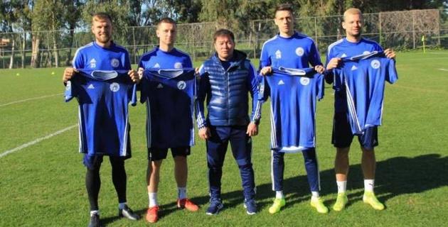 Четыре легионера подписали новые контракты с казахстанским клубом