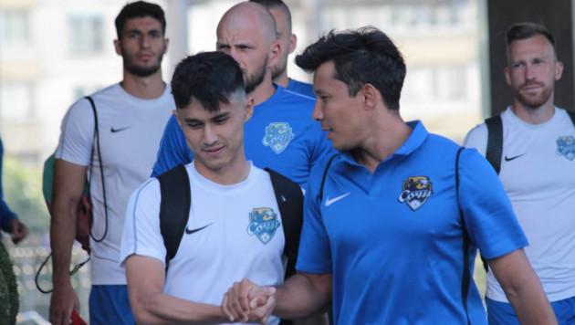 Казахстанский нападающий отправился на сборы с российским клубом