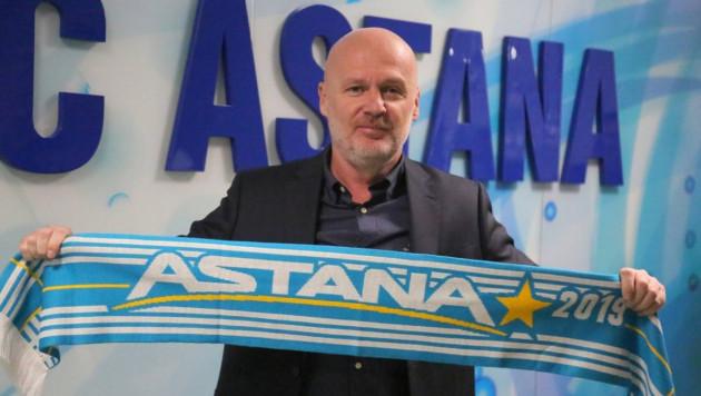 """Новый тренер """"Астаны"""" озвучил задачи и рассказал о своем будущем в сборной Казахстана"""