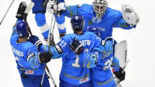 Стало известно расписание матчей сборной Казахстана по хоккею в отборе на Олимпиаду-2022