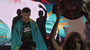 Qazsport анонсировал выступление казахского бойца в UFC