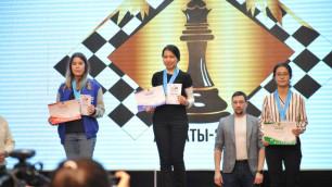 Определились чемпионы Казахстана по шахматам до 18 лет