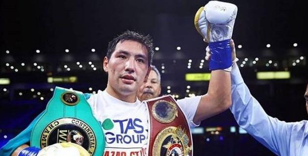 Казахстанский средневес Жанибек Алимханулы вошел в ТОП-10 рейтинга WBC