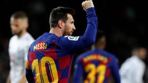"""Месси принес """"Барселоне"""" победу в первом матче с новым тренером и установил рекорд"""