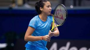 Зарина Дияс обыграла 24-ую ракетку мира и вышла во второй круг Australian Open-2020