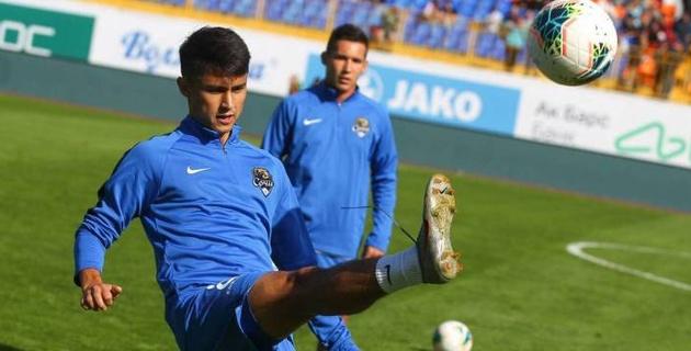 Клуб РПЛ с казахстанцем Бахтияровым сыграл вничью в товарищеском матче