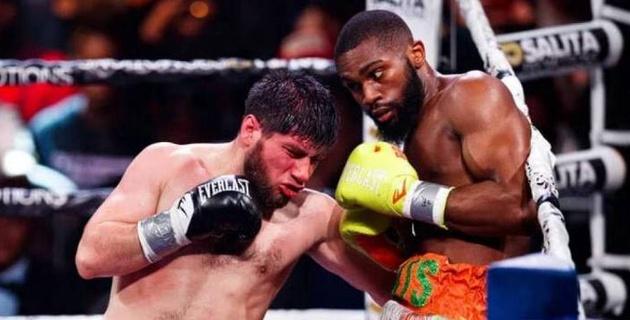"""""""Я был в шоке, ведь был в атаке"""". Казахстанский боксер - о судействе в США, подборе соперников и нокдаунах"""