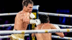 Казахстанец Джукембаев нокаутировал мексиканца в первом бою после завоевания двух титулов