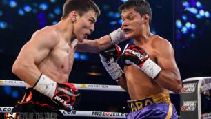 Видео нокаута, или как Джукембаев вырубил мексиканца в первом бою после завоевания двух титулов