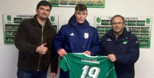 Казахстанский футболист подписал контракт с испанским клубом