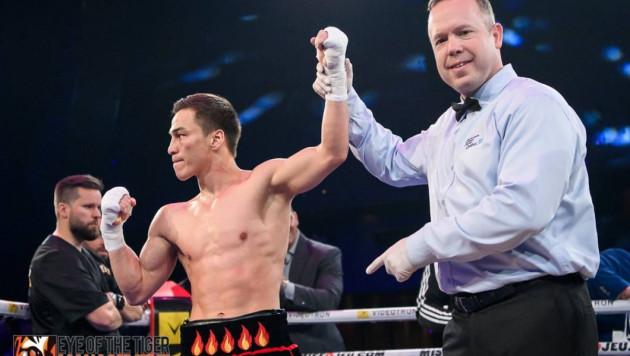 Джукембаев после победы нокаутом получил шанс на титульный бой и дебют в США