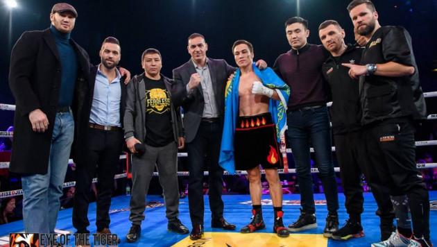 Джукембаеву предложили в соперники двух чемпионов мира с двумя титулами