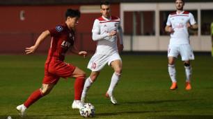 Казахстанец Жуков сыграл второй матч за польский клуб и готовится к официальному дебюту