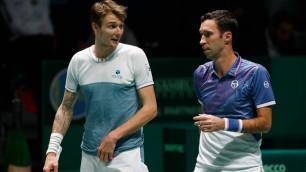 """""""Он главный"""". Казахстанские теннисисты раскрыли секрет исторического выхода в полуфинал Australian Open"""
